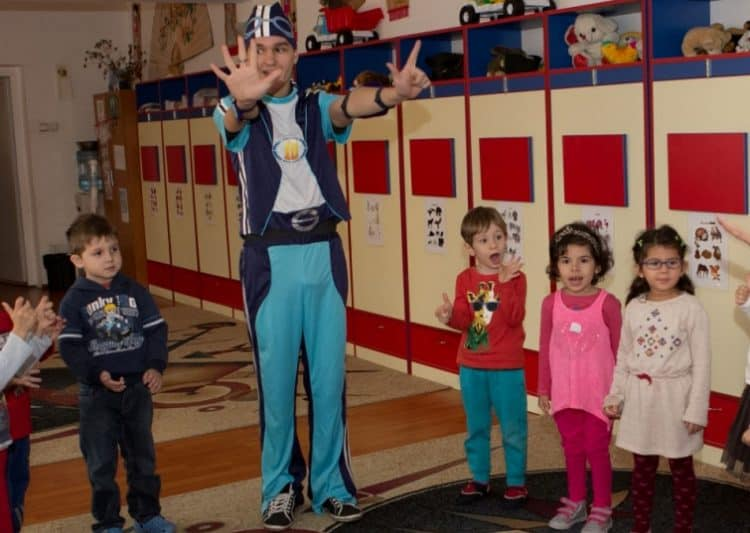 Personaje petreceri copii - sportacus - oraselul lenes