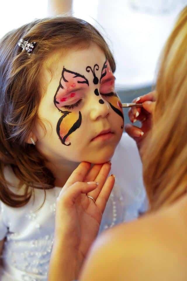 Pictura pe fata copii 04