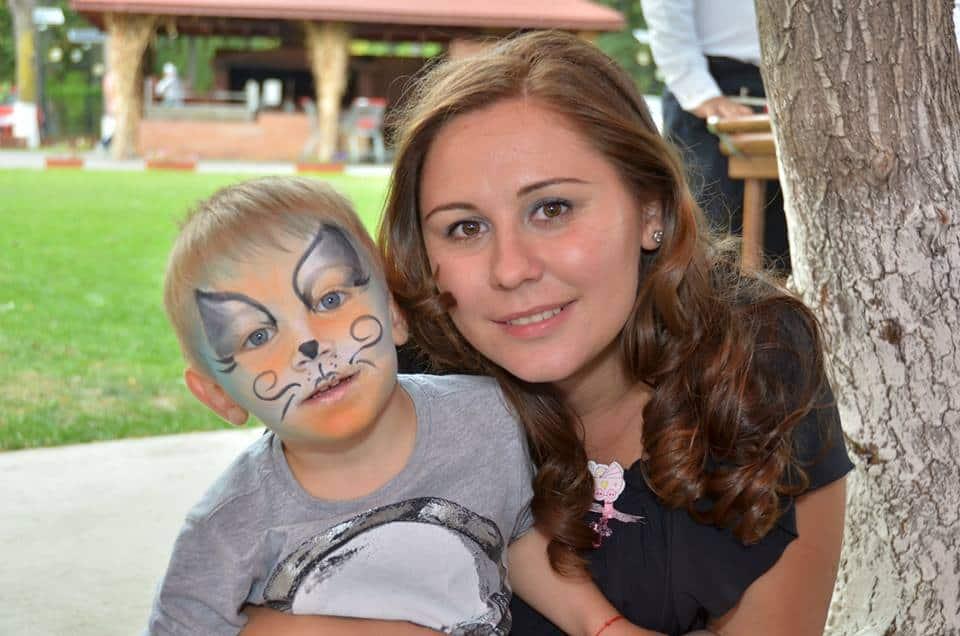 Pictura pe fata copii 06