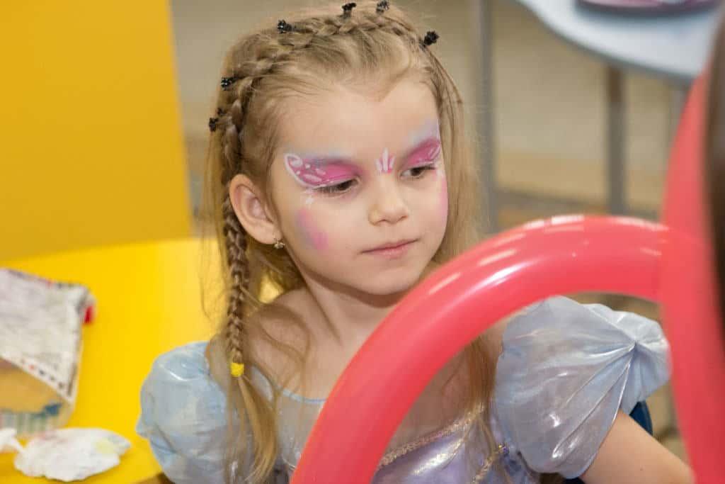 Pictura pe fata copii 08